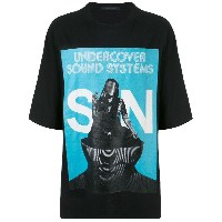 UNDERCOVER Sound System Tシャツ - ブルー