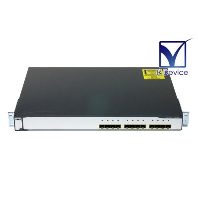 Cisco Systems Catalyst 3750シリーズ WS-C3750G-12S-S Switch V11 初期化済み【中古】