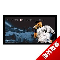 お取り寄せ MLB ヤンキース デレク・ジーター Sports Derek Jeter Moments: Farewell Speech Collage