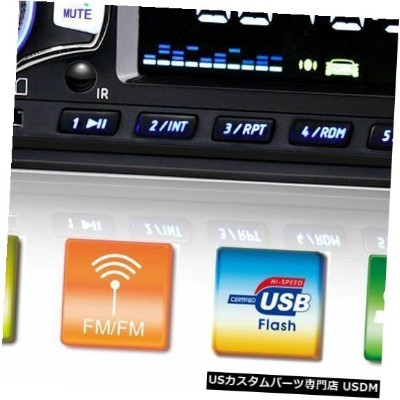 In-Dash カーステレオオーディオBluetooth In-Dash FM Aux入力レシーバーSD / USB / MP3ラジオプレーヤー Car Stereo Audio Bluetooth...