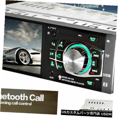 "In-Dash Autos DC12V 4.1 ""4012B HD In-Dash Bluetooth MP5 MP3プレーヤーステレオラジオAUX USB Autos DC12V 4.1""..."