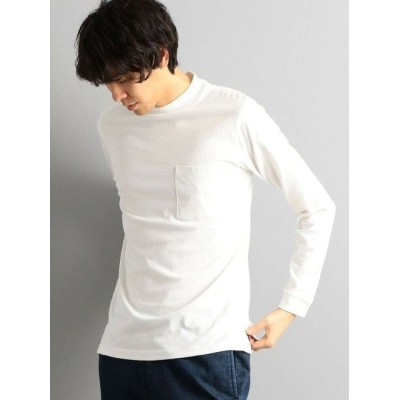 【SALE/56%OFF】UNITED ARROWS green label relaxing CMクリアモックネックLSカットソー ユナイテッドアローズ アウトレット カットソー Tシャツ...