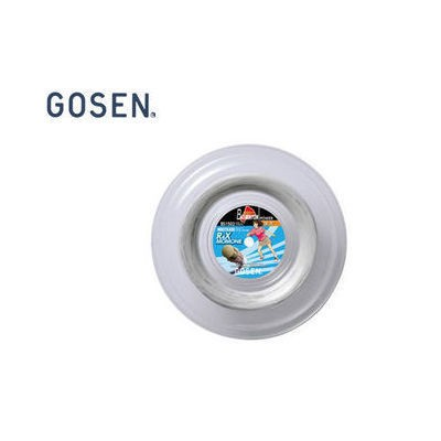 GOSEN/ゴーセン BS1502W RX4 MOMONE(0.66MM) 240M Roll (ホワイト)
