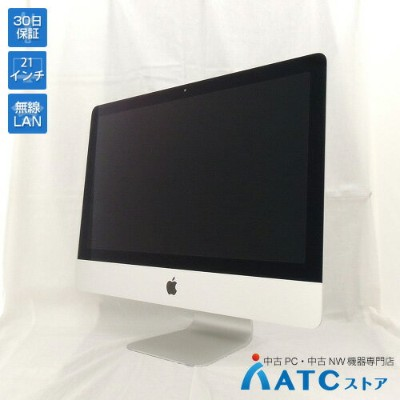 【中古デスクトップパソコン】Apple/iMac Retina 4K/MNE02J/A/Core i7 3.6GHz/SSD 512GB/メモリ 32GB/21.5インチ/Mac OS X 10...