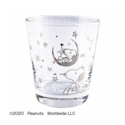 PEANUTS SNOOPY(スヌーピー) GLASS STAR SILVER PA-801