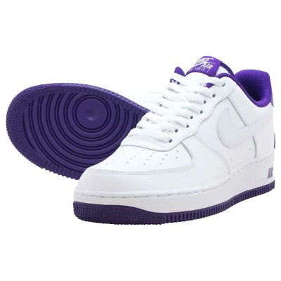NIKE AIR FORCE 1 '07ナイキ エア フォース 1 '07WHITE/WHITE-VOLTAGE PURPLE