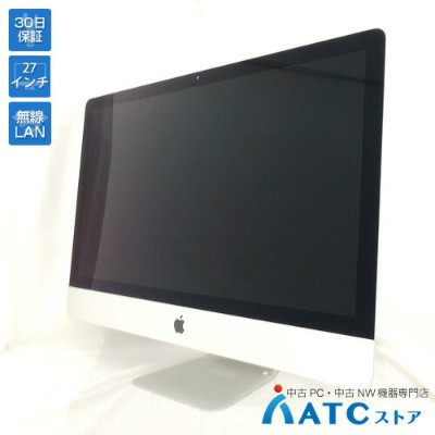 【中古デスクトップパソコン】Apple/iMac Retina 5K/MNED2J/A/Core i7 4.2GHz/SSD 512GB/メモリ 32GB/27インチ/Mac OS X 10.13...