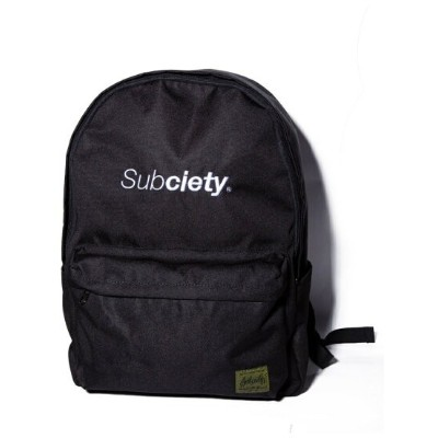 【SALE/20%OFF】Subciety Subciety/(M)BACKPACK-THE BASE- サブサエティ バッグ リュック/バックパック ブラック【送料無料】