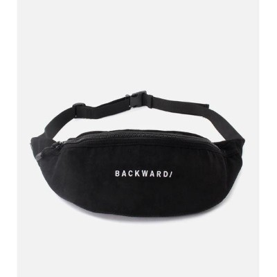 BACKWARD VELOR WAIST BAG/アズールバイマウジー(メンズ)(AZUL BY MOUSSY)
