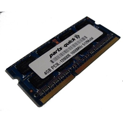4GB メモリ memory for エイサー Acer Aspire E5-521-263A DDR3L PC3L-12800 SODIMM RAM (PARTS-クイック BRAND) ...