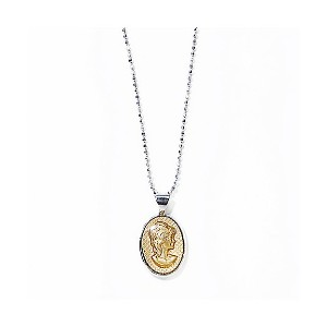 IRIS47(Women)  cameo necklace clear【三越伊勢丹/公式】 アクセサリー~~ネックレス・ペンダント~~レディース ネックレス・ペンダント