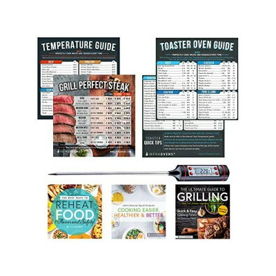 Toaster Oven Accessories | Cook Times Cheat Sheet