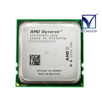 AMD Opteron 2350 2000MHz 4コア/4スレッド/4x 512kB L2 cache/Socket F/OS2350WAL4BGH【中古CPU】