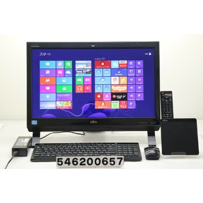 富士通 ESPRIMO FH54/KD Core i3 3120M 2.5GHz/4GB/1TB/Blu-ray/21.5W/FHD(1920x1080)/Win8 Office付属【中古】...