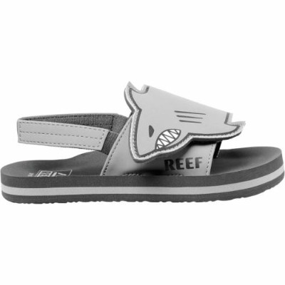 REEF シャーク KIDS' 【 REEF LITTLE AHI CHOMPERS SANDALS BABY SHARK 】 キッズ ベビー マタニティ