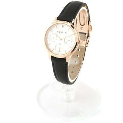 agnes b. FEMME FEMME/(W)LM02 WATCH FCST989 時計 アニエスベー ファッショングッズ 腕時計 ブラック【送料無料】