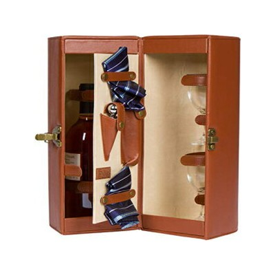 """14.5"""" Leatherette Wine Case & Carrier for One B"""