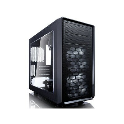 FD-CA-FOCUS-ミニ-BK-W Fractal Design ミニタワー型PCケース Fractal Design Focus G Mini Black Window