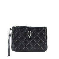Marc Jacobs The Quilted Softshot 財布 - ブラック