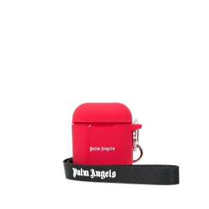 Palm Angels ロゴ AirPods ケース - レッド