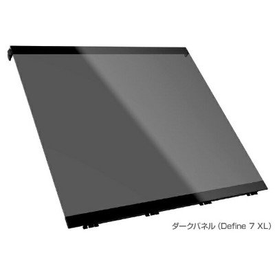 FRACTAL DESIGN フラクタルデザイン Define 7 XL用 Tempered Glass Side Panel - Dark Tinted TG FD-A-SIDE-002