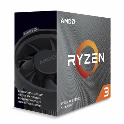 AMD Ryzen 3 3100 プロセッサ with Wraith Spire cooler 100-100000284BOX【第3世代 ライゼン CPU 3.6GHz 4コア 8スレッド...