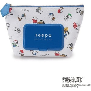 【one'sterrace(ワンズテラス)】 SNOOPY seepo スポーツ キャラクター > キャラクターグッズ ブルー