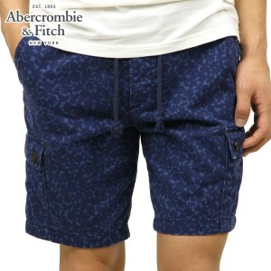 【25%OFFセール 4/21 10:00~4/24 09:59】 アバクロ Abercrombie&Fitch 正規品 メンズ ショートパンツ 128-283-0407-020