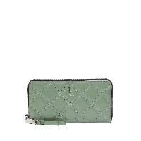 Marc Jacobs The Quilted Softshot 長財布 - グリーン
