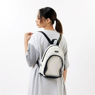 【VANSウェア】HEART LIZZIE BACKPACK ヴァンズ バックパック VN0A4SBR3KSANTIQUE ANTIQUE WHITE