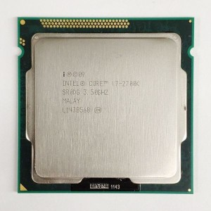 送料無料★本体PC用CPU Intel CPU Core i7 i7-2700K 3.50GHz 8M インテル 増設CPU【中古】