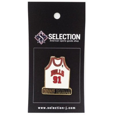 NBA デニス・ロッドマン シカゴ・ブルズ Jersey Pin ピンバッチ ピンズ IMPRINTED PRODUCTS