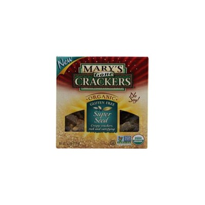 Mary's Gone Crackers Organic Super Seed Crackers Gluten Free-5.5オンス Mary's Gone Crackers Organic...