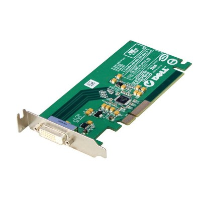 0FH868 DELL LowProfile グラフィックカード PCI Express DVI Silicon Image Sil 1364A ADD2-N【中古】