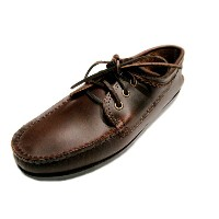 QUODDY TRAIL MOCCASIN(クオディ・トレイルモカシン)/#501 BLUCHER MOCCASIN/brown chrome