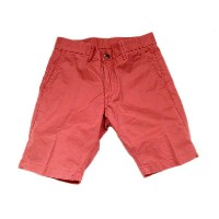 GROWN & SEWN(グロウン&ソーン) /INDEPENDENT SLIM SHORTS TWILL/faded red