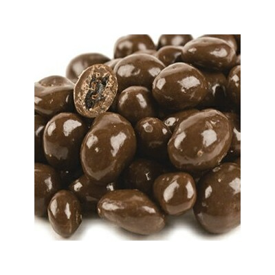 Carob Covered Raisins (Sugar Sweetened) - 1 Lb