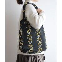 AND WOOL 撫菜刺繍のバッグ