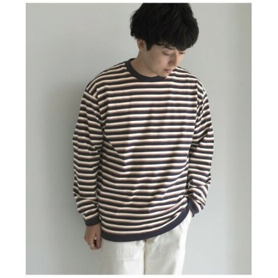 DOORS ORCIVAL HIGH COUNT JERSEY LONG-SLEEVE T-SHIRTS アーバンリサーチドアーズ カットソー Tシャツ【送料無料】