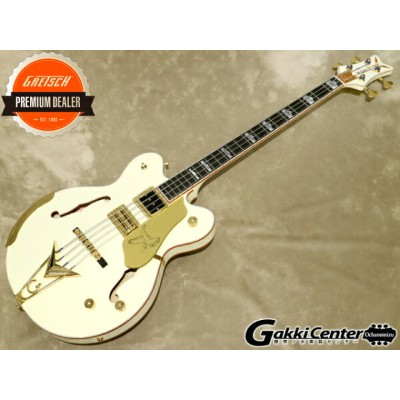 Gretsch G6136B-TP Tom Petersson Signature Falcon™ 4-String Bass Aged White【シリアルNo:JT20020916/4.4kg】...