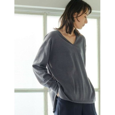 [Rakuten Fashion]【SALE/30%OFF】[手洗い可能] FFC シャツテール プルオーバー ニット UNITED ARROWS green label relaxing...