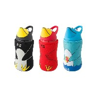 THERMO MUG Animal Bottle 3個 set○5155AM/5155AM/5155AM Black/red/marine お弁当箱・水筒