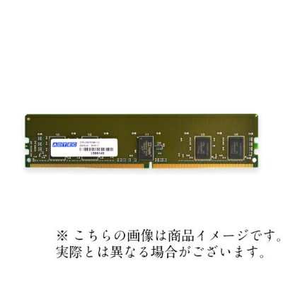 サーバ用 増設メモリ PC4-3200 288pin Registered DIMM DDR4-3200 RDIMM 32GB 2Rx4 ADS3200D-R32GDA アドテック/ADTEC ...