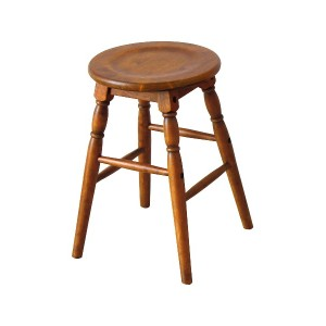 CHIC FURNITURE Low Stool○HMS2666 ブラウン チェア・ベンチ・スツール