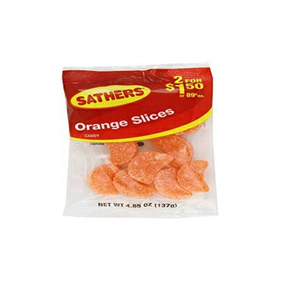 4.85 Ounce (Pack of 12), Farley's & Sathers Candy, Orange Slices, 4.85 Ounce, Pack of 12