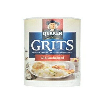Quaker Old Fashioned Smooth&Creamy Grits Pack of 3、24 oz Containers Quaker Old Fashioned Smooth & Creamy Grits Pack of 3, 24 oz Containers