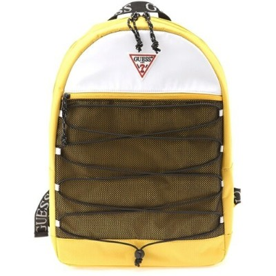 【SALE/69%OFF】GUESS (U)MOUNTAINEER BACKPACK ゲス バッグ リュック/バックパック イエロー ブラック レッド