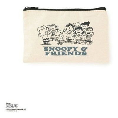 【SALE/40%OFF】Adam et Rope' Le Magasin 【PEANUTS*LE MAGASIN】コラボポーチ アダム エ ロペ ル マガザン バッグ ポーチ ネイビー レッド...