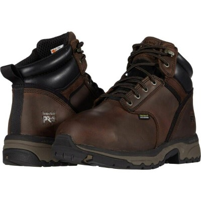 ティンバーランド Timberland PRO メンズ シューズ・靴 【6' Jigsaw Steel Safety Toe Internal Met Guard】Brown