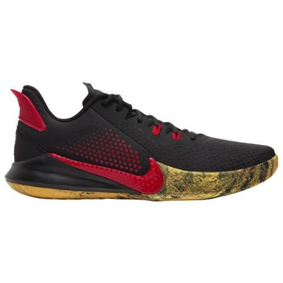 (取寄)ナイキ メンズ シューズ マンバ フューリー Nike Men's Shoes Mamba Fury Black University Red University Gold